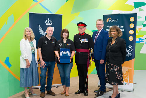 Payara Services being presented with the Queen's Award for Enterprise