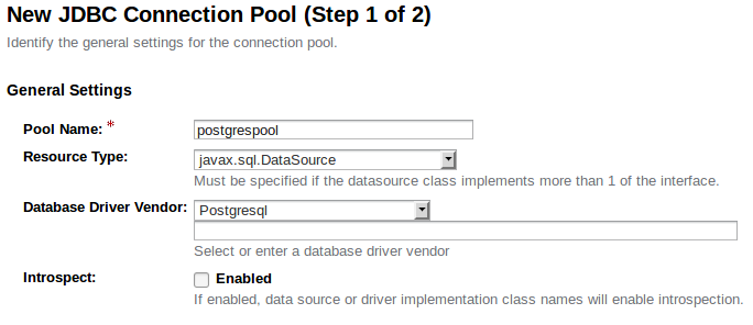 Using PostgreSQL with Payara Server
