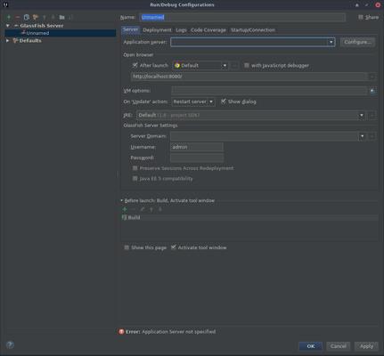 Payara for Beginners - Adding Payara Server to IntelliJ IDEA