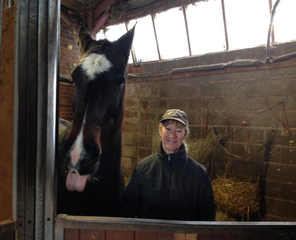 Sarah Payara Finance Manager and Horse