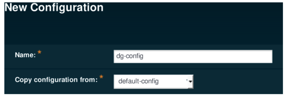 Payara Server new configuration