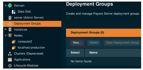 Deployment Groups in Payara Server