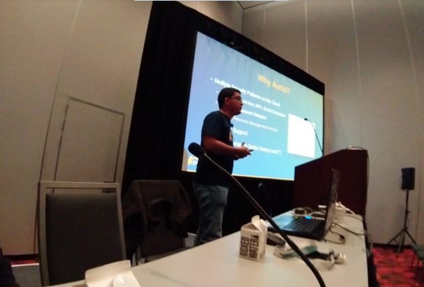 Fabio at Oracle Code One 2019