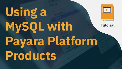 Using a MySQL with Payara Platform Products