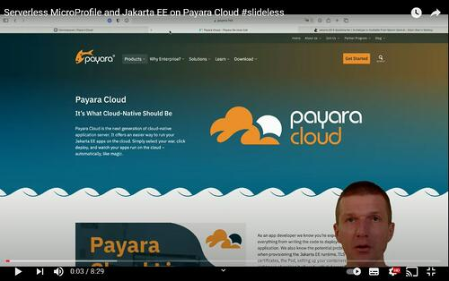 Adam Bien Payara Cloud