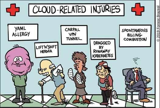 cloud native injuries