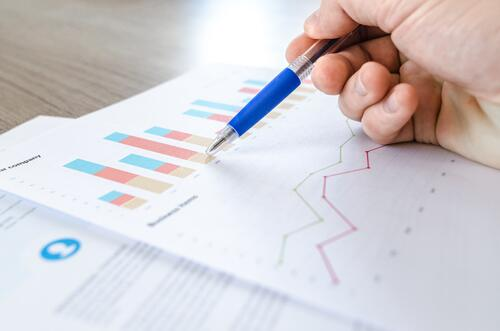 financial statement chart-close-up-data-desk-590022