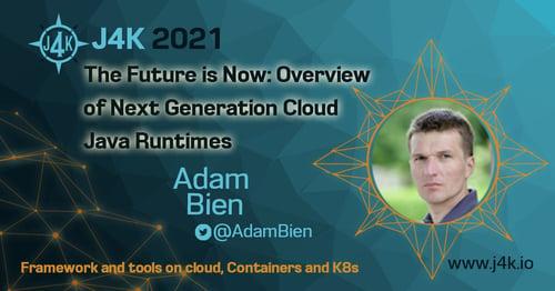 Adam Bien J4k conference social media image