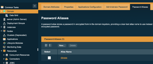 Password aliases image