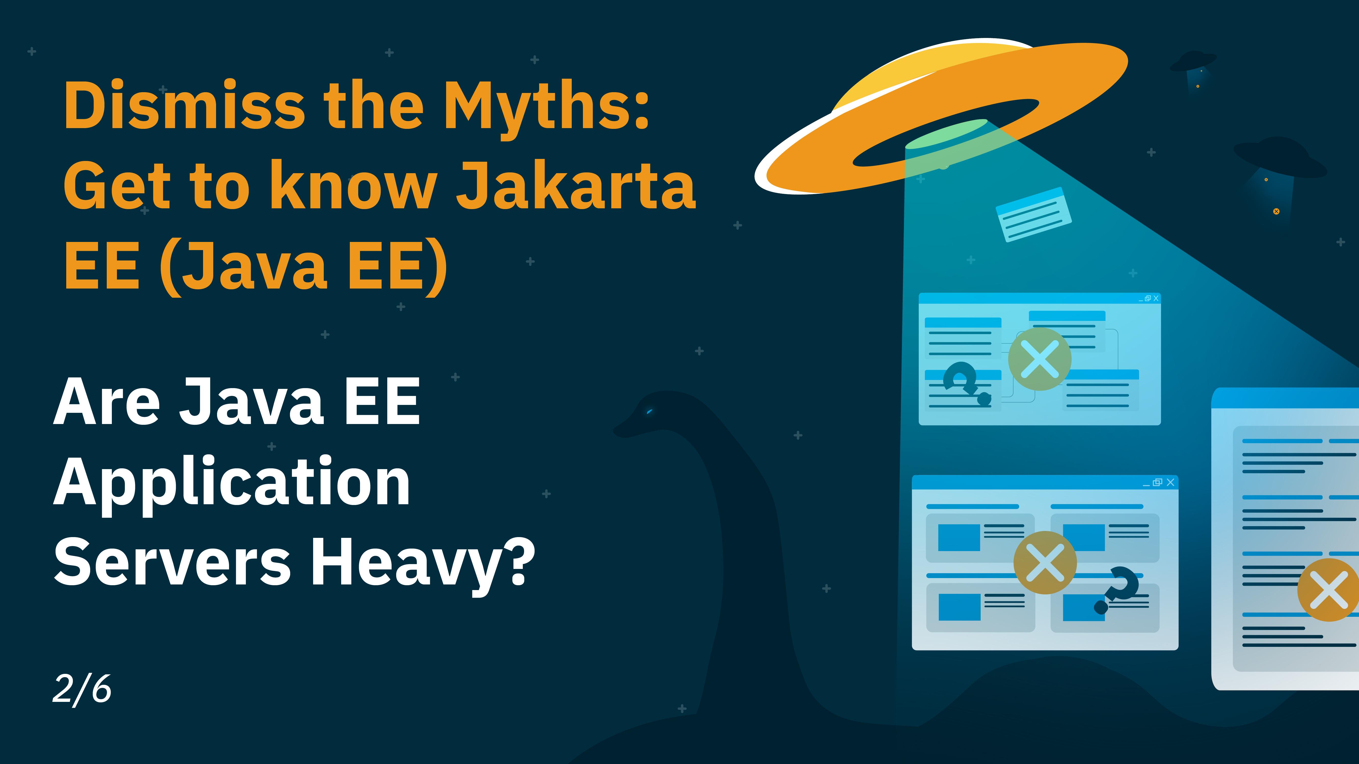 Java EE Application Servers Heavy