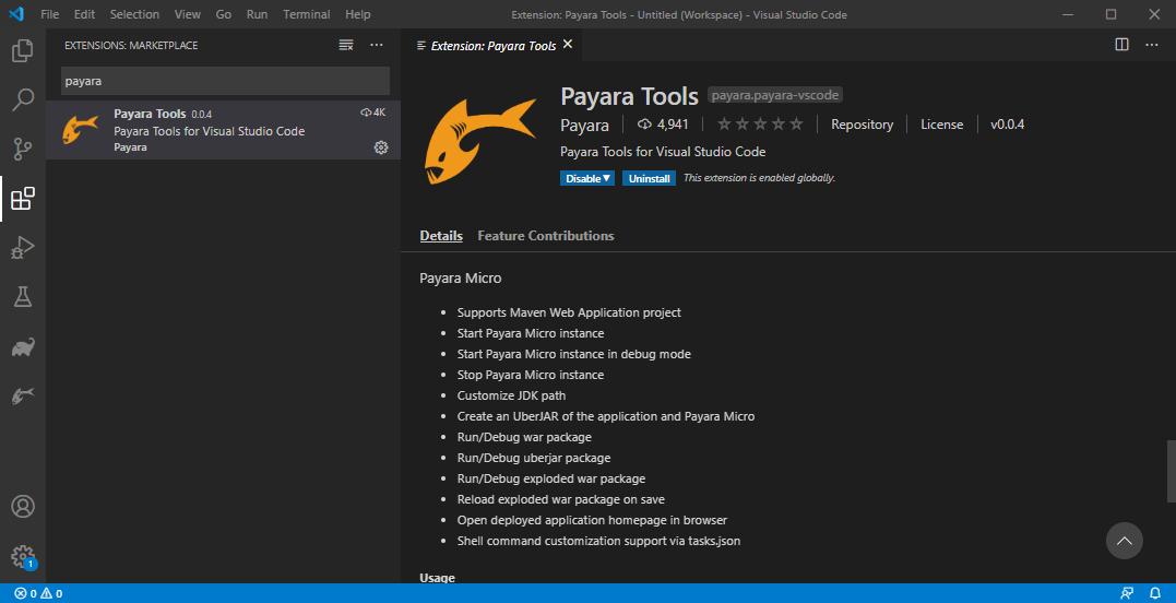 payara tools