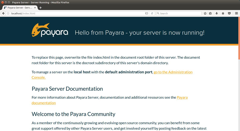 Payara Server - Server Running - Mozilla Firefox_009