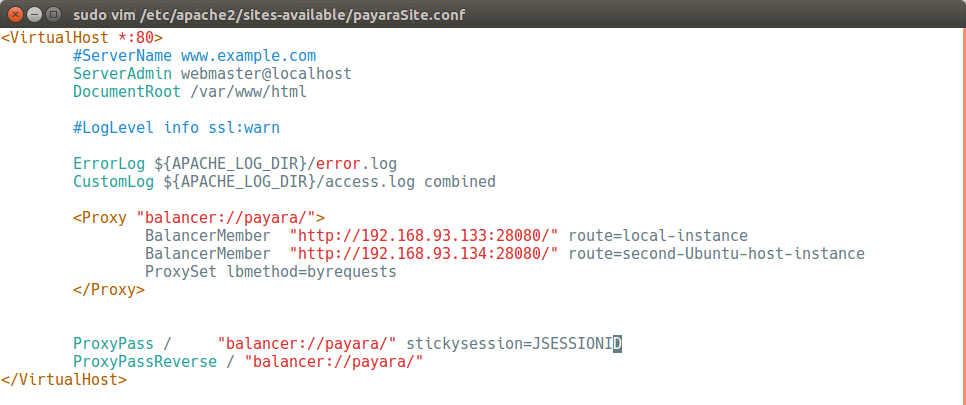 Payara Server Basics Part 5 - Configuring Sticky Sessions
